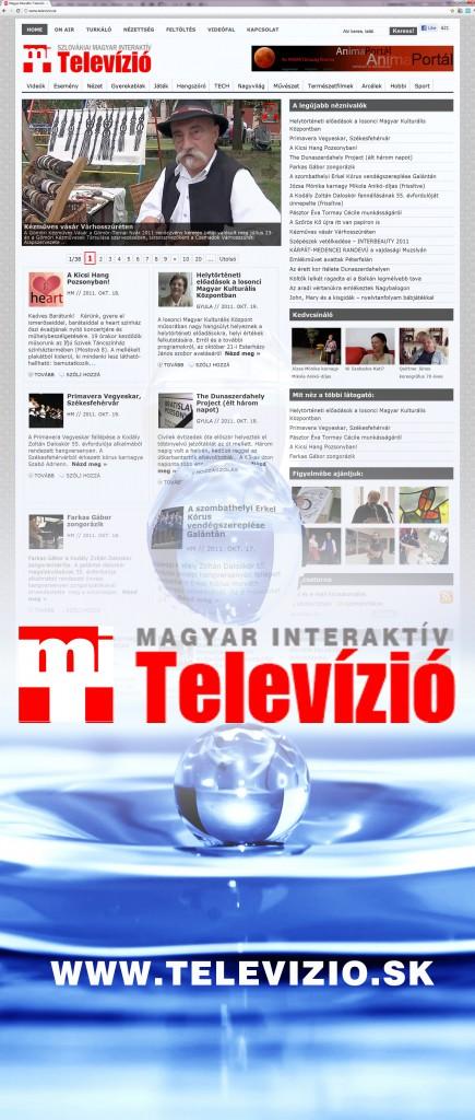 Szlovákiai Magyar Interaktív Televízió