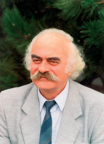 Tóth Elemér költő. Görföl Jenő fotója.