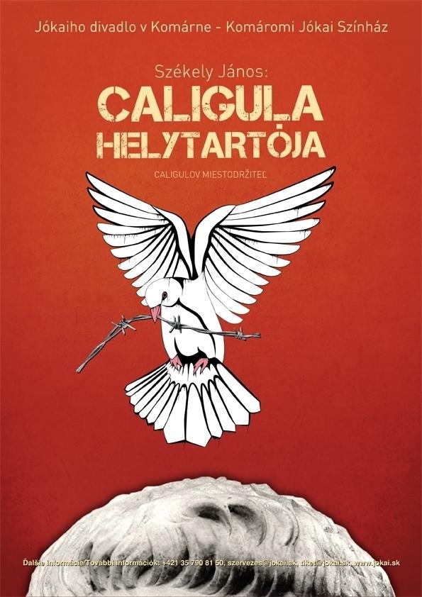Caligula helytartója - a plakátpályázat nyertese
