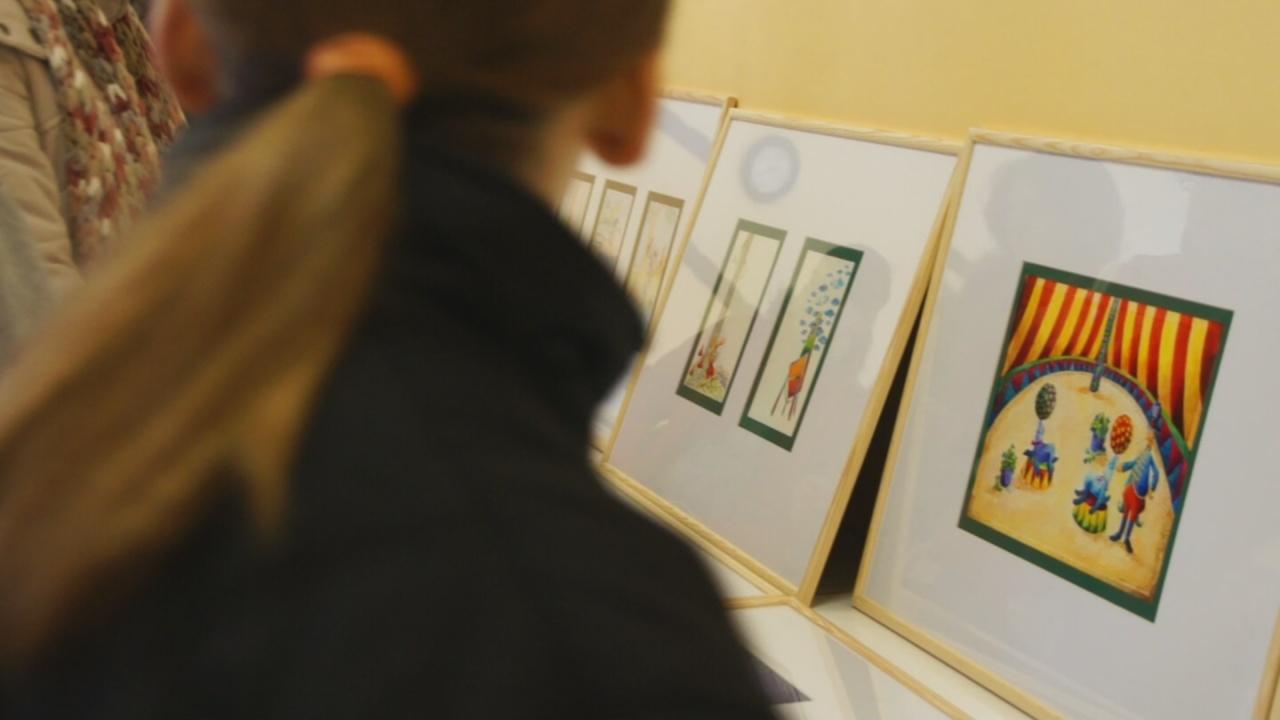 Takács János gyermekkönyv-illusztrációi vándorúton az ANIMA Társaság szervezésében
