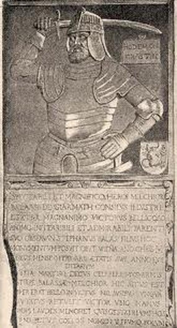 Balassa Menyhért síremléke Széleskúton