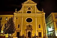 Ferences rendi szemináriumi templom, Kassa