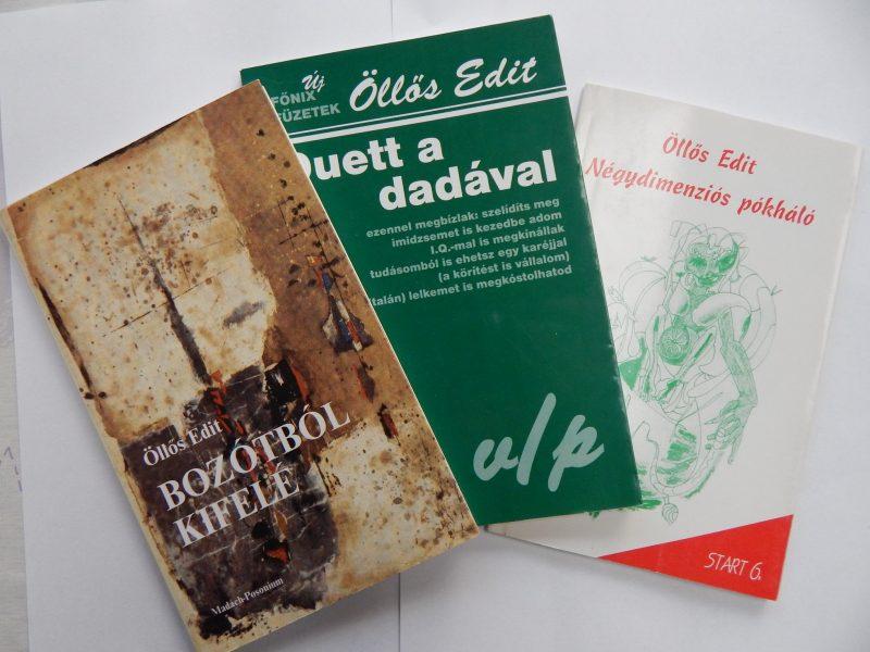Öllős Edit kötetei