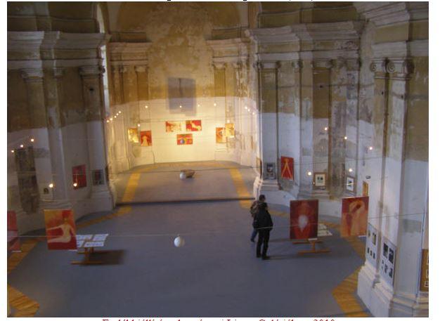 Emlékkiállítás a komáromi Limes Galériában, 2010